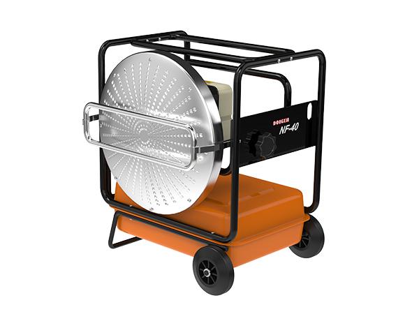 工业暖风机在户外的应用