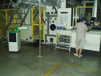 工业冷气机SAC-25案例