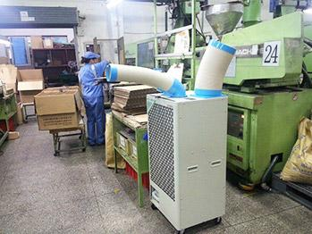 工业冷气机SAC-45案例