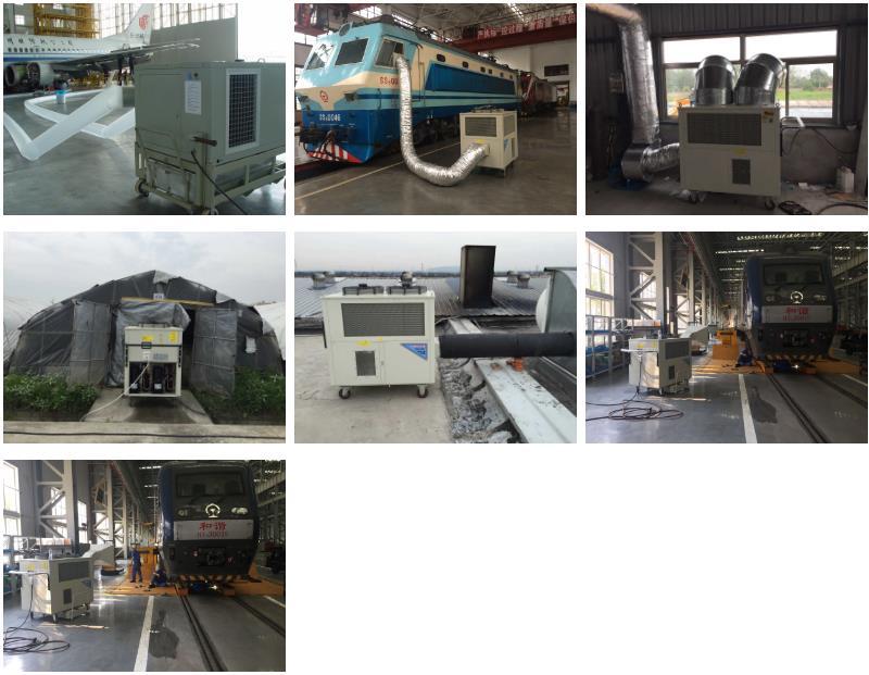 工业冷气机SAC-250案例